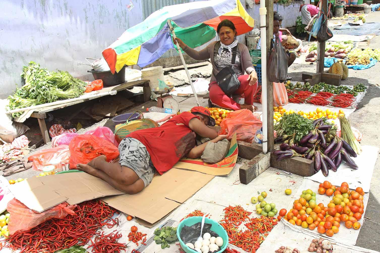 Markt in Manokwari