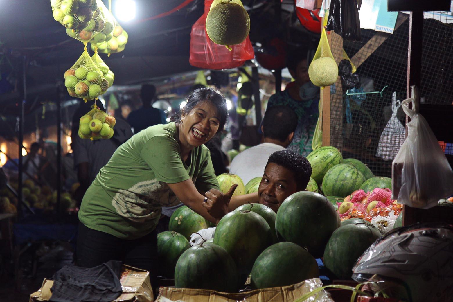 nachtmarkt in ambon