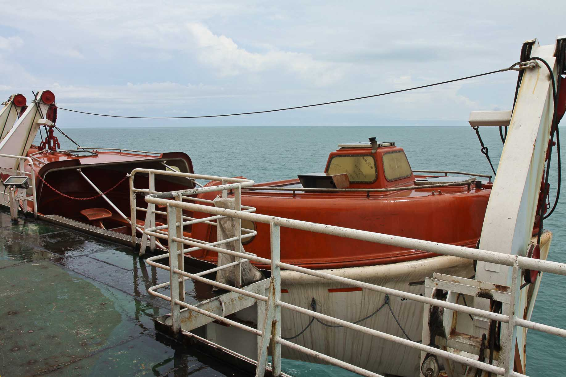 Rettungsboot aus Berliner Weltsichten