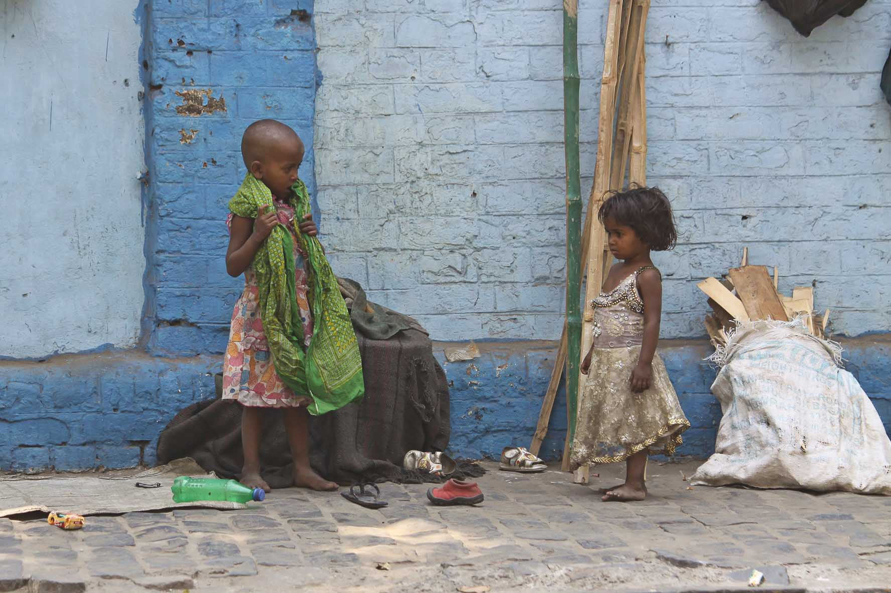 strassenkinder in kolkata
