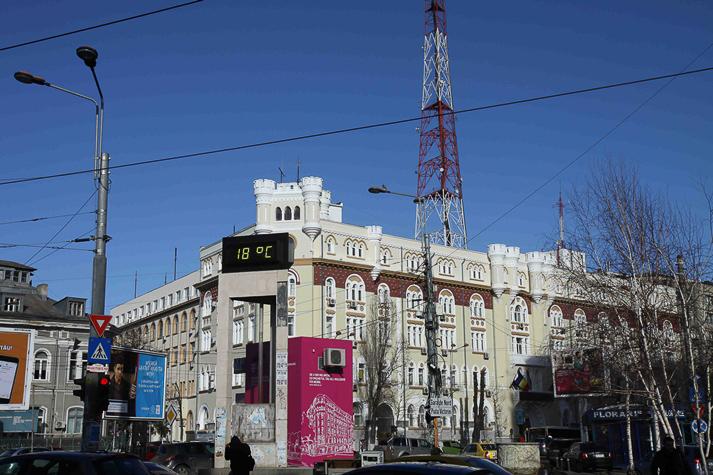 18 Grad Ende Januar in Bukarest