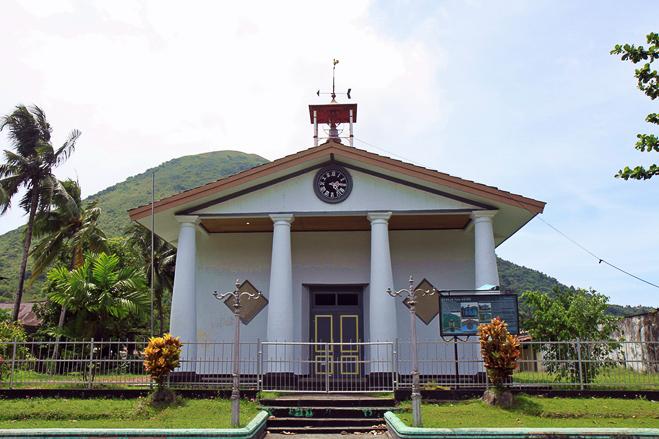 Alte Dutch-Kirche auf Bandaneira