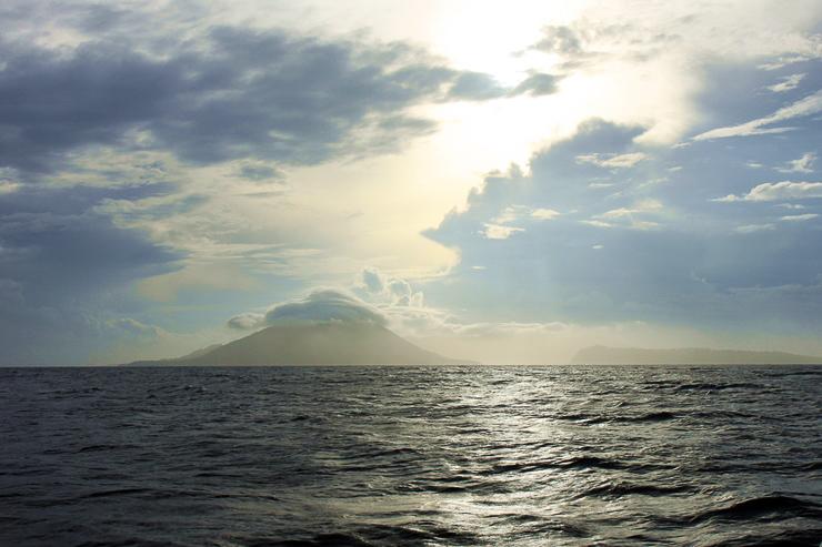 Banda Islands in Sicht