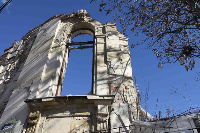 Das alte Bukarest verfällt