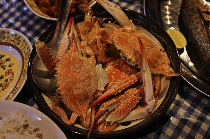 Lecker Krabben