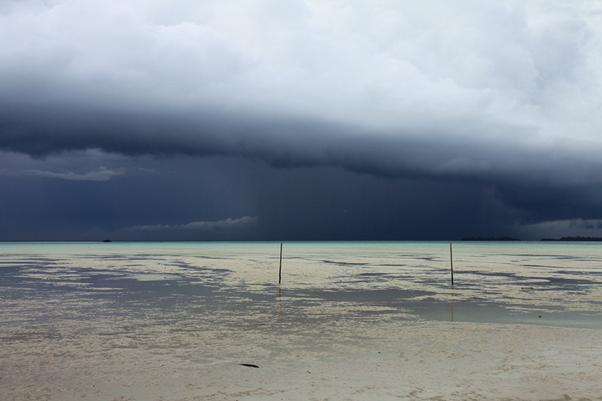 Schlechtwetter zieht vorbei