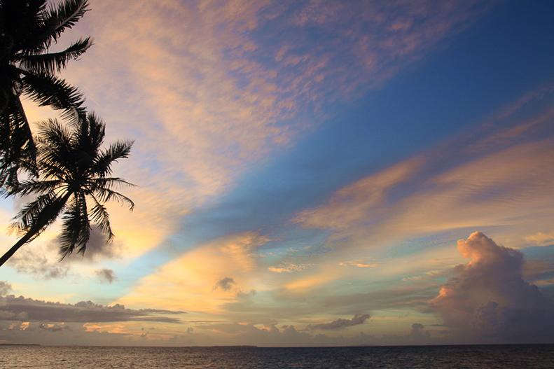 Sunset auf Larat