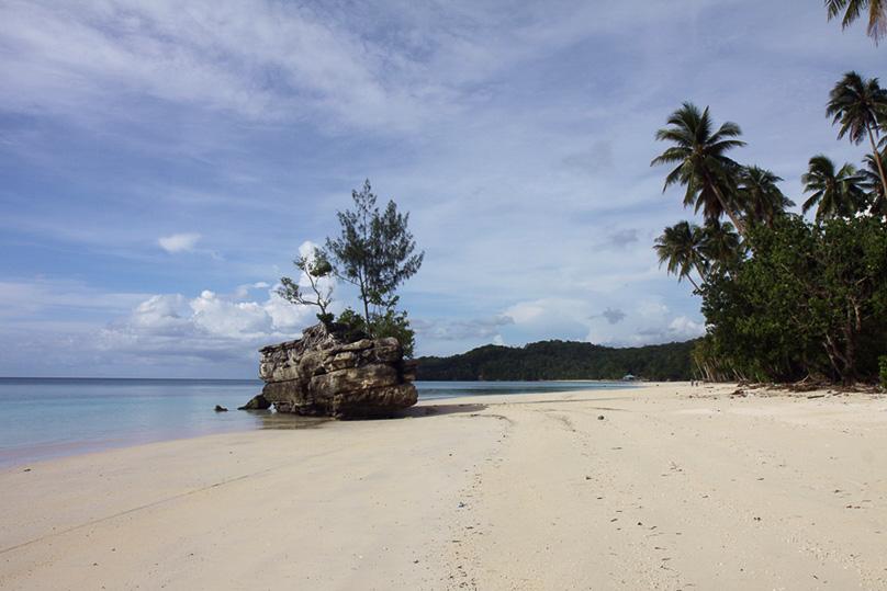 Beach auf key besar (3)