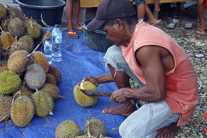 Durian-saison