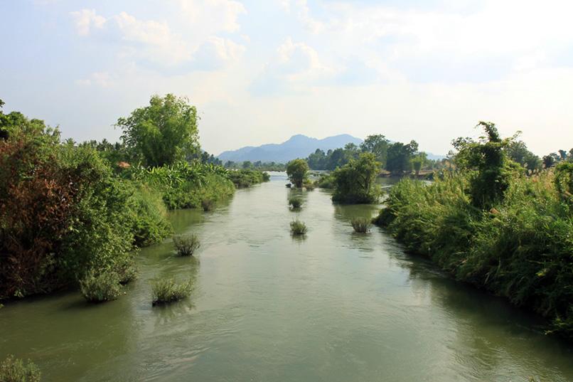 Mekong auf dem Weg nach Kambodscha