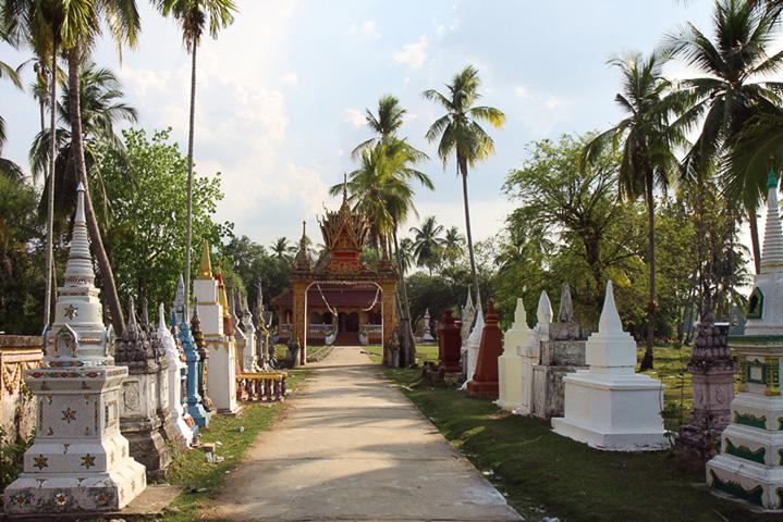 Tempel auf Don Khon