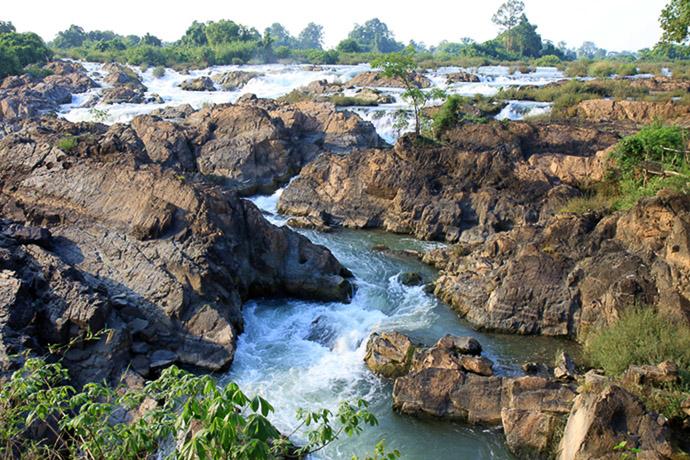Wasserfälle auf Don Khon