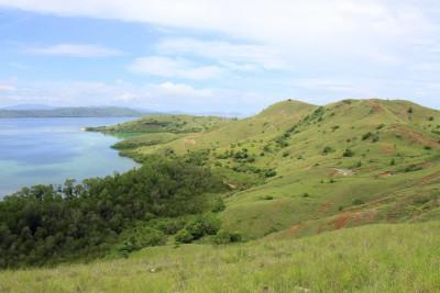 Blick von Rinca-Island