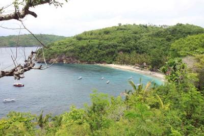 Crystal Bay auf Penida-island