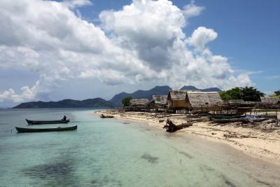 Dorf auf Pulau Babi