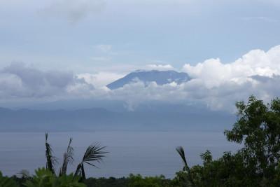 Mt. Agung zeigt sich kurz