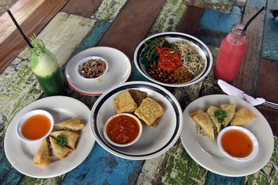 food on bali