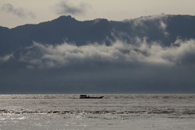 Blick nach Pulau Pantar