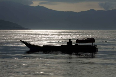 Fischen vor Kepa-Island