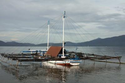 Fishing-boat auf Lembata