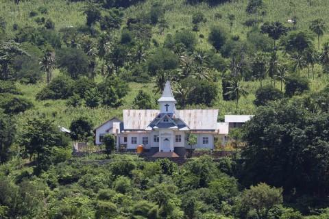 Kirche auf einer der vielen Inseln