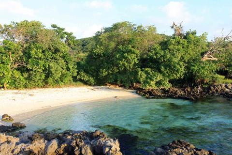 Kleine Bucht auf Kepa-Island