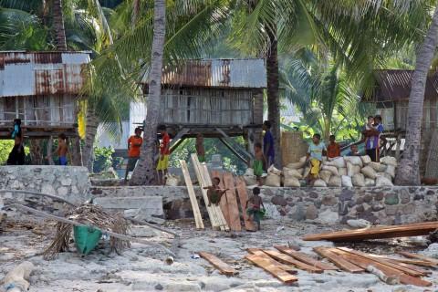 Kleines Dorf auf Pulau Ternate
