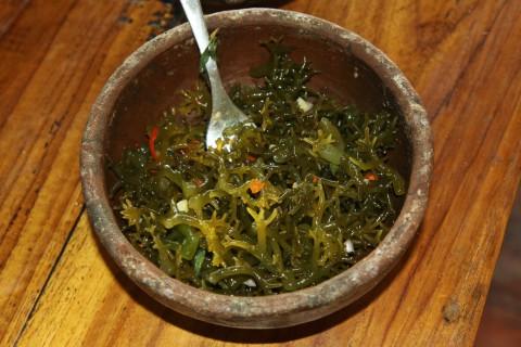 Seegras-Salat