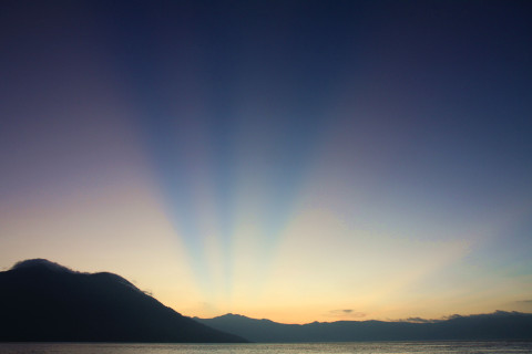 Sunset auf Kepa