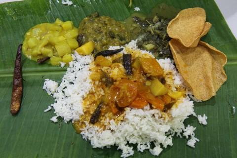Indischer Thali in KL