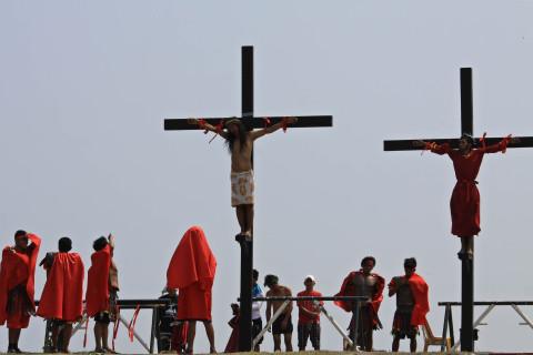 Kreuzigung in der Nähe von San Fernando
