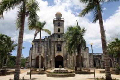 Alte spanische Kirche auf Bohol