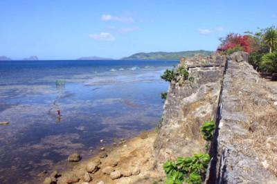 Blick vom Fort in Taytay