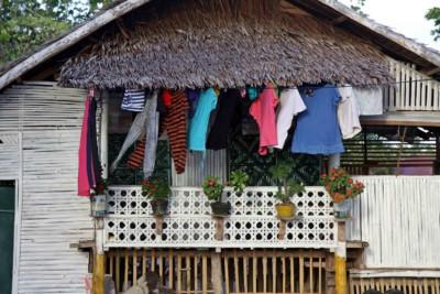 Haus auf Pamilacan-Island