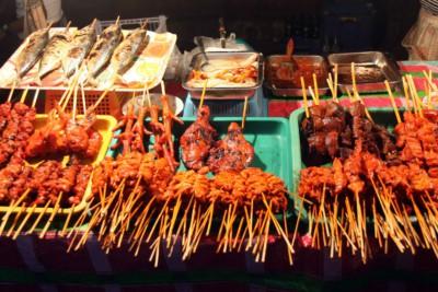 Nachtmarkt in Cebu-City