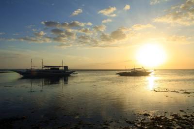 Sunset auf Pamilacan